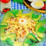 Рецепт салата морского