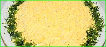 Салат из курицы и чернослива
