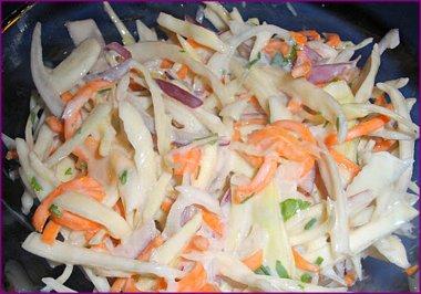 Зимний салатик