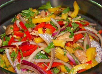 Рецепты легких и быстрых салатов